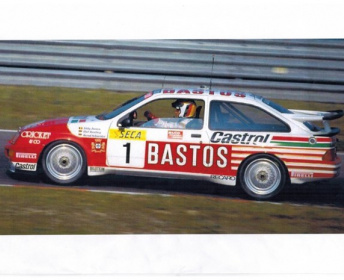 FORD SIERRA RS500 EGGENBERGER GROUPE A
