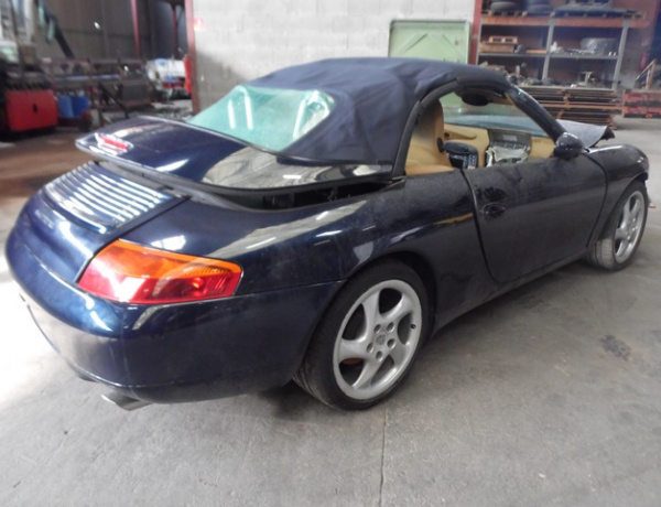 PIECES PORSCHE CABRIOLET 996
